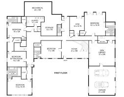 plans for house energy saving u shaped modern house plans modern house design