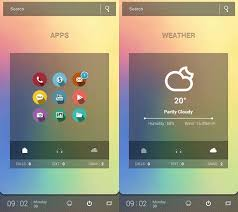 themes for android phones 30 cool and customized android home screens hongkiat