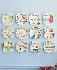 horderve plates 12 days of christmas appetizer plates s 12 tableware and home