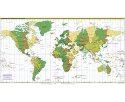 Time Zone Map by Maps Of Time Zones Of The World Collection Of Detailed Maps Of
