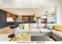 beautiful living room interior new luxury stock photo 360591503