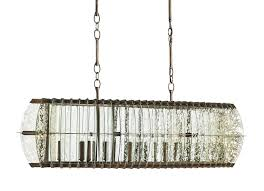zanzibar rectangular chandelier currey u0026 company