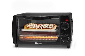 elite cuisine elite cuisine 4 slice toaster oven broiler black eka 9210b