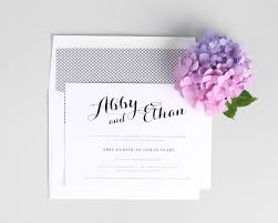 Wedding Invitation Card Maker Romantic Calligraphy Wedding Invitations In Purple U2013 Wedding