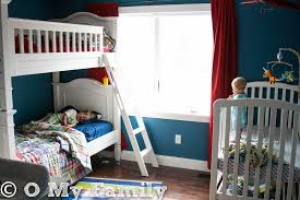 Bunk Bed For 3 Three Kids In One Bedroom O My Family U2013 This New Mom U0027s Blog