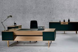 Modern Wood Office Desk Contemporary Wood Office Furniture Executive Desk Contemporary In