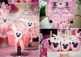 minnie mouse birthday decorations minnie mouse themed birthday party via kara s party ideas