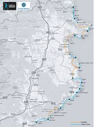 Route 66 Map How Long To Drive by Camino De Ronda Hiking Plan