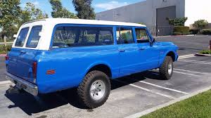chevy suburban blue 1969 chevrolet suburban k20 in huntington beach ca advantage