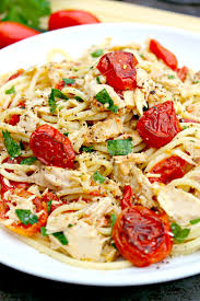 spaghetti with tuna and roasted tomatoes the complete savorist