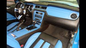 Exotic Car Interior Ford Mustang Gt Exotic Interior Youtube