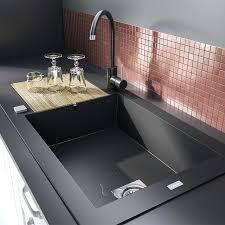 evier cuisine design evier design cuisine evier noir dacco et design pour une cuisine