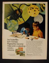 1972 sears golden microscope chemistry sets science reveal