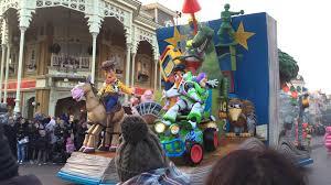 disney magic on parade disneyland 2015