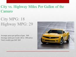 camaro per gallon a comparison of two cars i would like to own a camaro and a jeep
