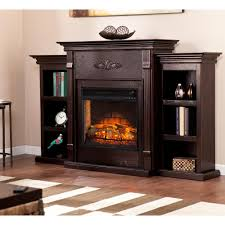 northwest 36 in led fire and ice electric fireplace with remote