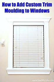 window trim ideas u2013 simplir me