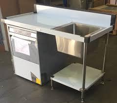 Under Counter Dishwashers Stainless Ss05 7 1500 Dw Under Counter Dishwasher Sink Bench