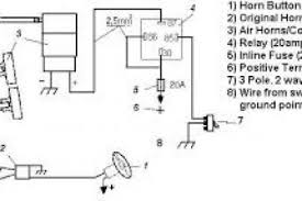 horn relay diagram wiring 4k wallpapers