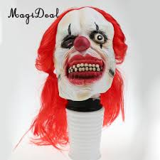 scary clown halloween mask popular creepy clown costume buy cheap creepy clown costume lots