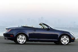 lexus 2 door convertible 2005 lexus sc 430 overview cars com