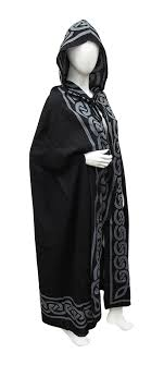 ritual cloak lightweight cotton hooded ritual cloak