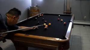 brunswick brighton pool table 8 foot brunswick billiard table review youtube
