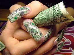 money crazy nail designs ideas interior design and decorating