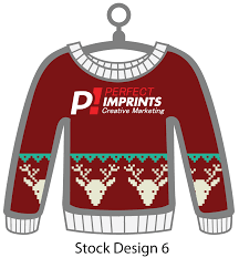 ugly christmas sweater ornament christmas cards
