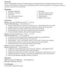 quality control resume sample aircraft maintenance and quality