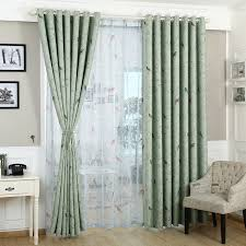 Curtains Blue Green Aliexpress Com Buy Curtains For Bedroom Blue Green Pattern