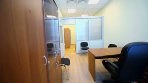 Small Office Cabinet Interior Of Small Empty Cabinet With Office Furniture View From