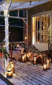 Ambiance Et Jardin Déco Extérieur Jardin Pour Noël Avec Des Lumières En 18 Idées Magiques
