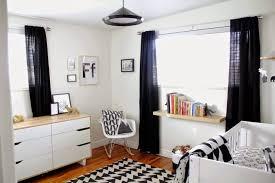 chambre bebe noir inspiration une chambre d enfant en noir et blanc pour ma douceur