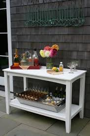 Side Table Buffet Outdoor Buffet Table Using A Side Table Outdoor Side Table