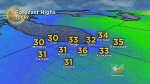Show Me The Weather Map Weather Cbs Chicago