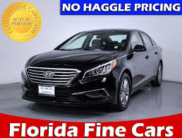 used 2017 hyundai sonata se sedan for sale in miami fl 84541
