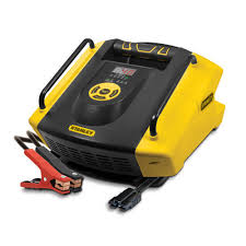 stanley golf cart and vehicle battery charger baccus global
