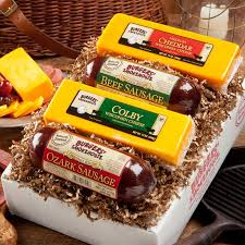 summer sausage gift basket sausage and cheese gift sets food boxes