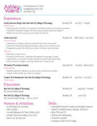 week 3 assignment resume u0026 cover letter ashley valera