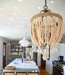 Tutorial On Diy Beaded Chandelier 153 Best Wooden Beads Images On Pinterest Chandeliers Light