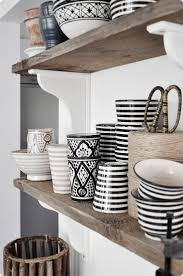 31 best modern moroccan decor images on pinterest moroccan style a stunning shelf of moroccan ceramics from the seaside fishing village of safi all