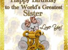 birthday animated cards for sister happy birthday pics