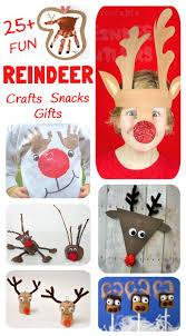 reindeer crafts activities snacks and gifts activities plays
