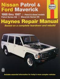 nissan patrol and ford maverick australian automotive repair