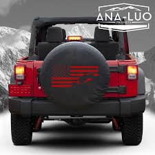 flag tire cover jeep wrangler any state avalible