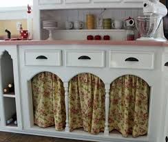 Curtains For The Kitchen Catherine Holman Folk Art Living With Pink Kitchen Countertops