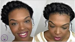 Protective Styles For Short Transitioning Hair - how to protective style goddess braid natural transitioning