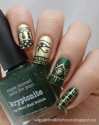 will paint nails for food glaucoma awareness manicure nails