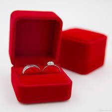 wedding rings in box 2017 luxurious velvet corner ring box 6cm 5 6cm 4 5cm